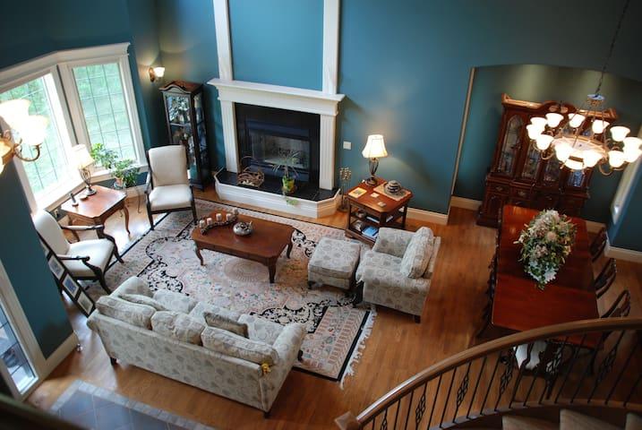 """Westminster Glen"" Luxury Home, Bearspaw (Calgary) - Calgary - Dom"