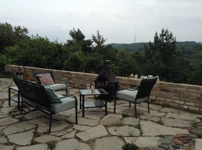 Private apt. with breathtaking view. - West Bend - Talo