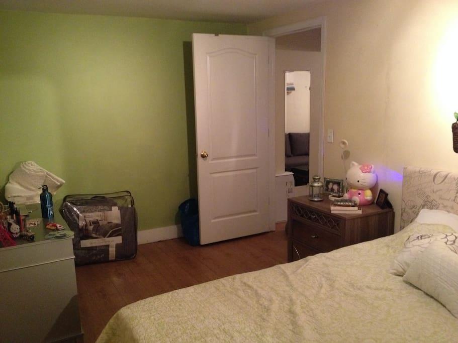 Huge bedroom by NYC standards