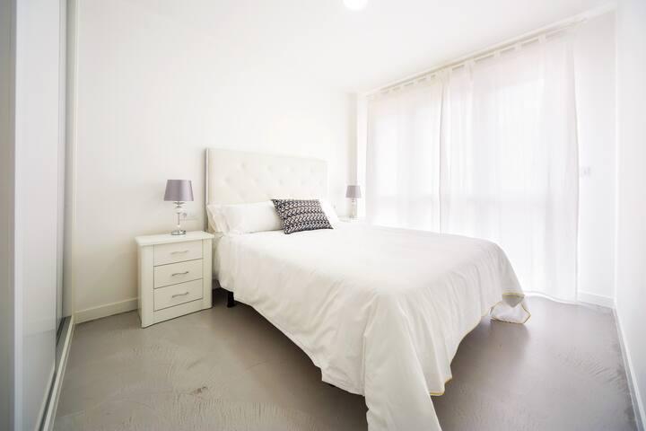 Apto 1 dormitorio - 1 cama | Rueiro 17 - Bajo B