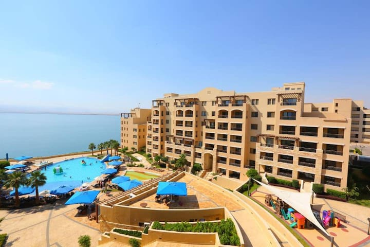 Family apartment in Dead Sea Resort - Jordan