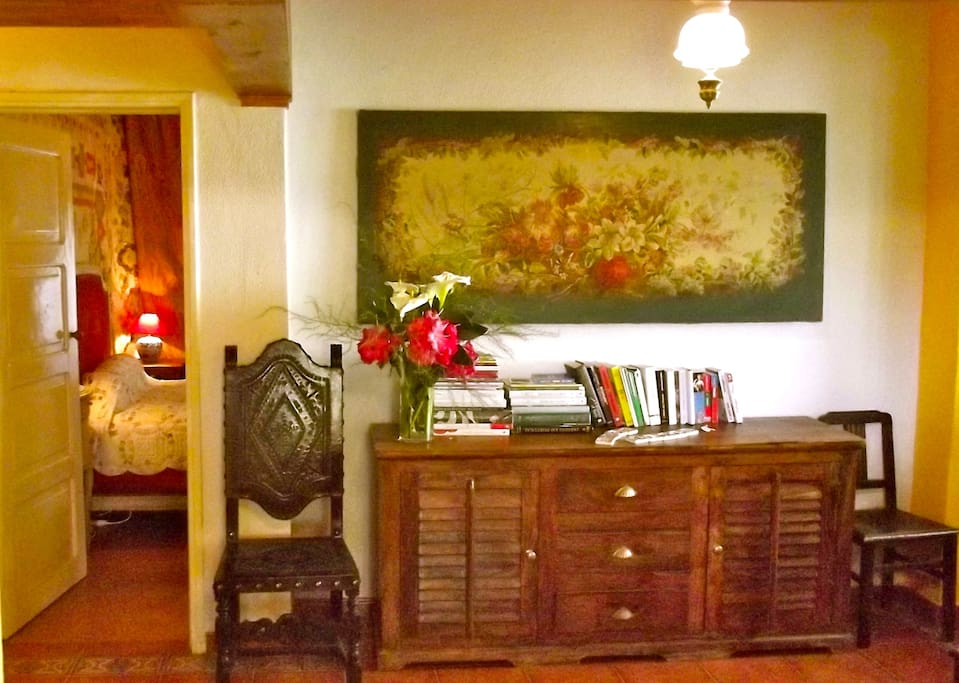 Entry Hall of the Casa Aloes