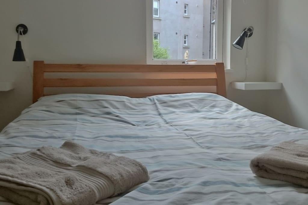 Beach room bed