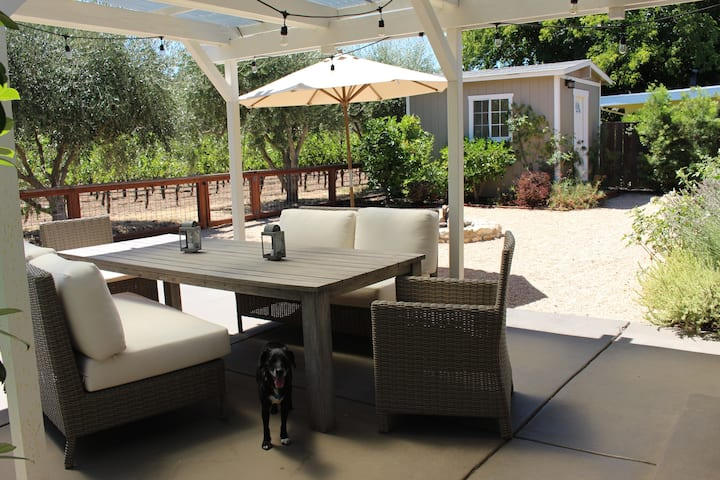Newly Renovated with Vineyard Views