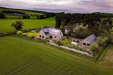 Eco House (large) in the Scottish Borders.