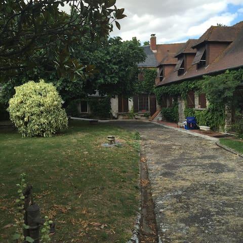 Maison dans village Briard typique - Audeville - บ้าน