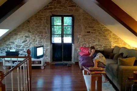 Rural stone Galician finca  - Ribeira - Ház