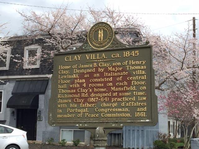 Historic Clay Villa - Apt 1202