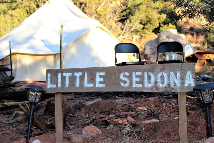 """Little Sedona"" at Zions View Camping"