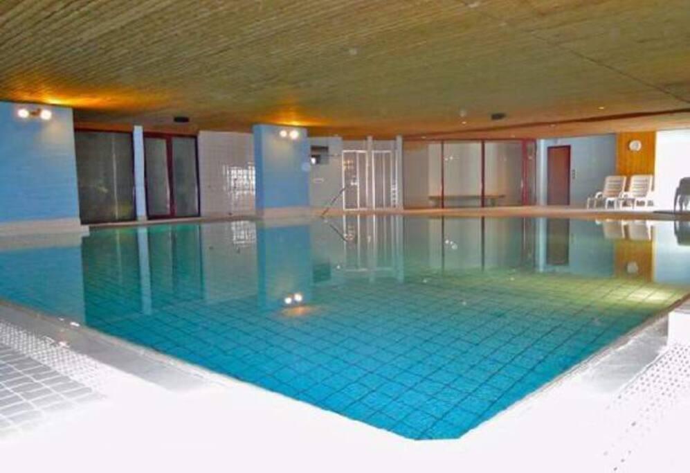 Schwimmbad & Sauna im Hause