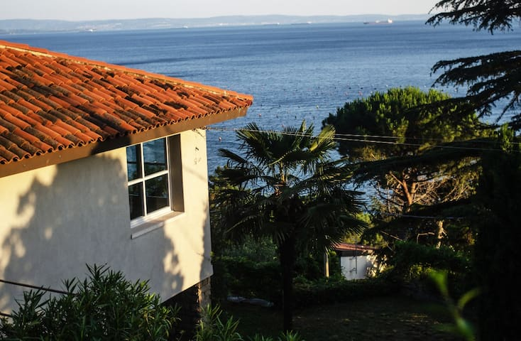 ♛VILLA IGNATIUS/Trieste private garden & sea