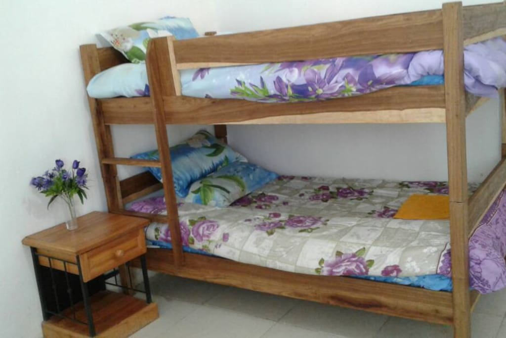 Bunk bed in the 2 bedroom apartment
