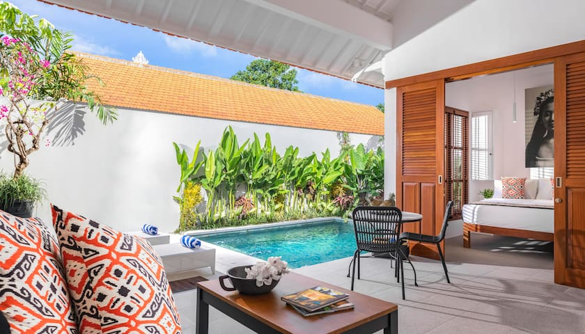 MONTHLY STAY PROMO Villa near Seminyak Square
