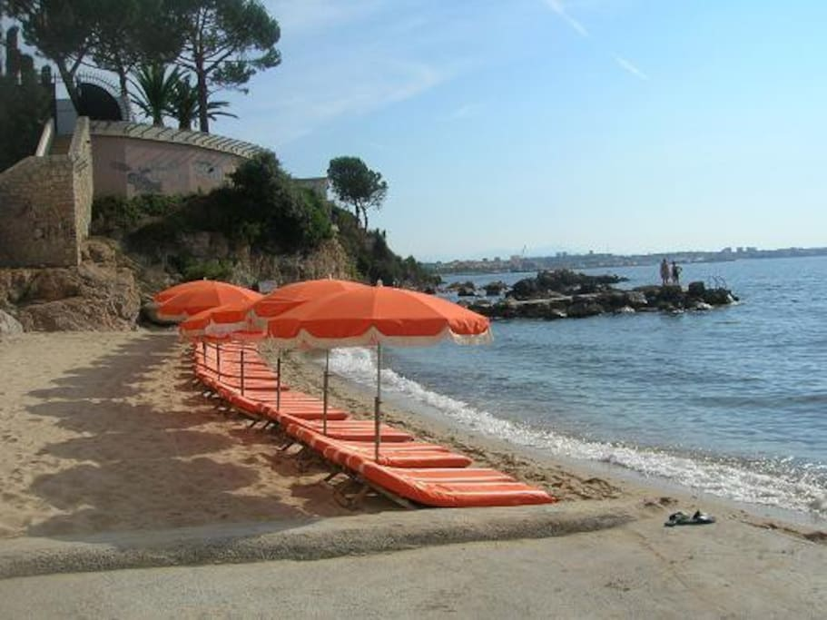 PLAGE ACCESSIBLE A PIEDS
