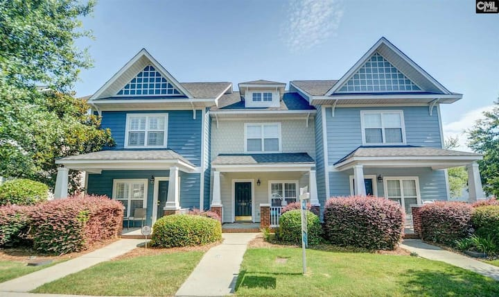 Charming Townhouse-Close to Fort Jackson