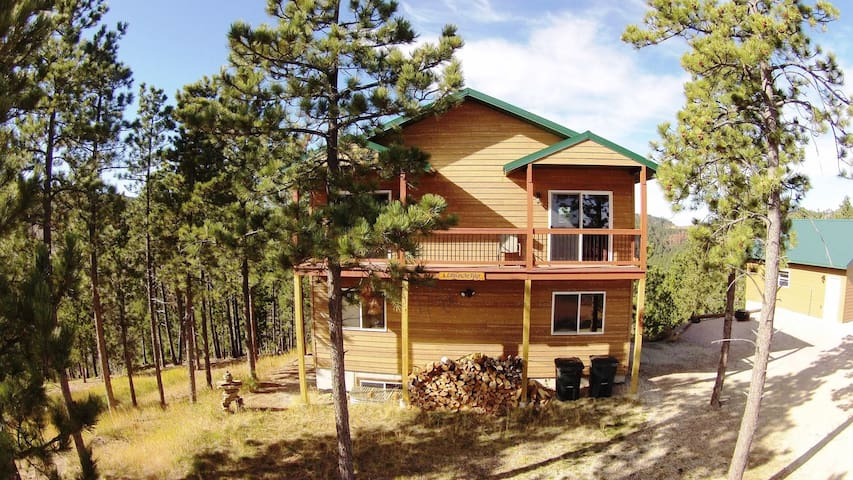 Cabin on the Ridge-Cozy cabin with game room, hot tub, and views for miles