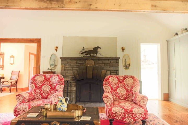 Hudson Valley Winter: Streamside Farmhouse