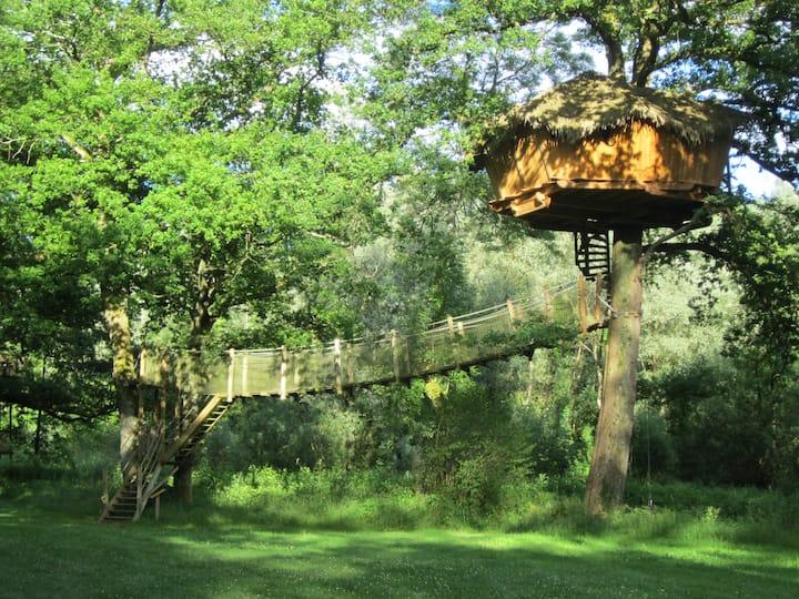 Cabane Spa Refuge pour 2 personnes