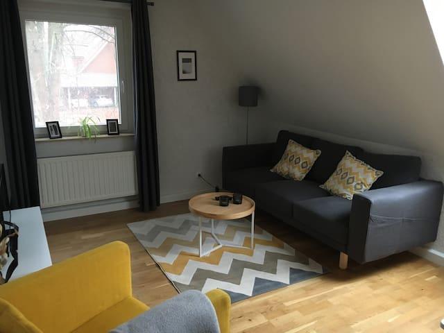 Modern eingerichtete Wohnung mit 2 Schlafzimmern