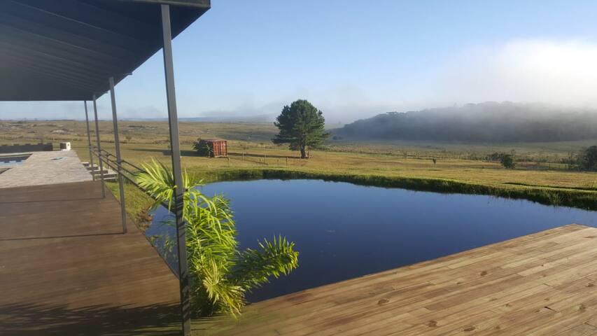 Casa de campo S Luis do Purunã com vista magnífica
