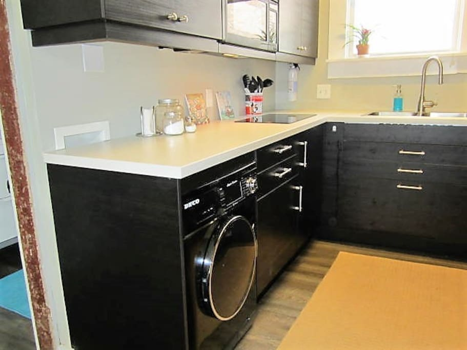 Washer & Dryer on Site