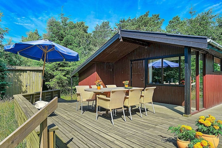 Quaint Holiday Home in Jutland, Nordjylland with Terrace.