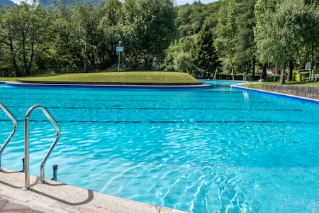A wonderful gateway + Swimming Pool at lake Como - Valbrona