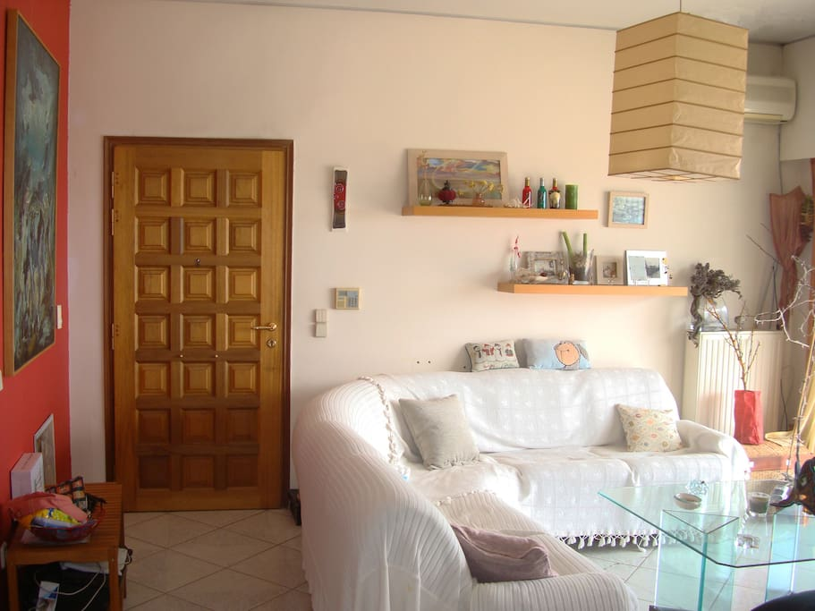 Main entrance of the apartment.