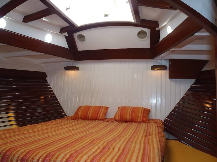 Double master suite.
