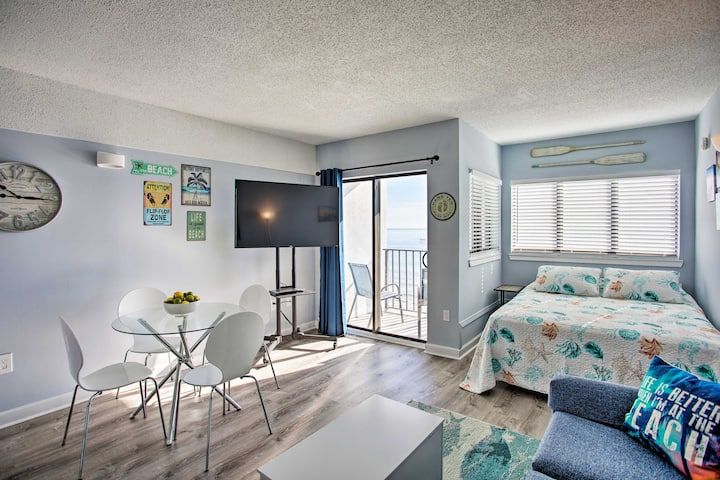 NEW! Marvelous Myrtle Beach Studio w/ Ocean Views!