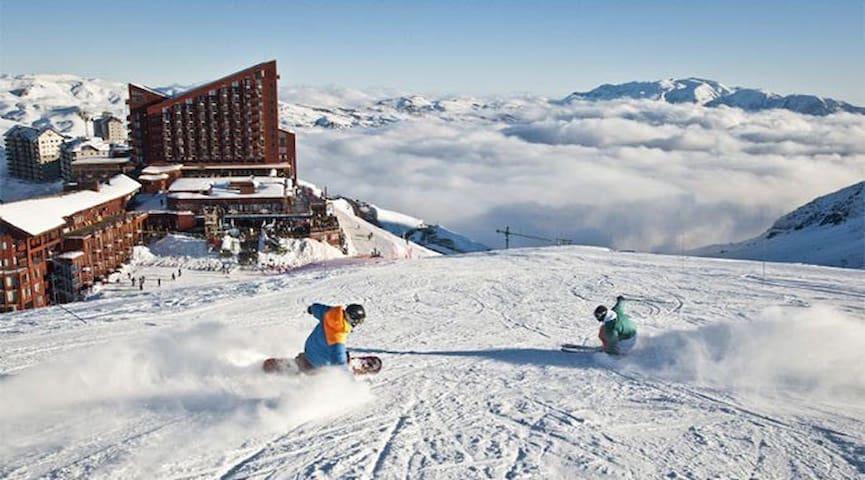 Acogedor departamento en epicentro de Valle Nevado