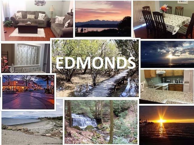 Cozy room and continental breakfast - Edmonds - Apto. en complejo residencial