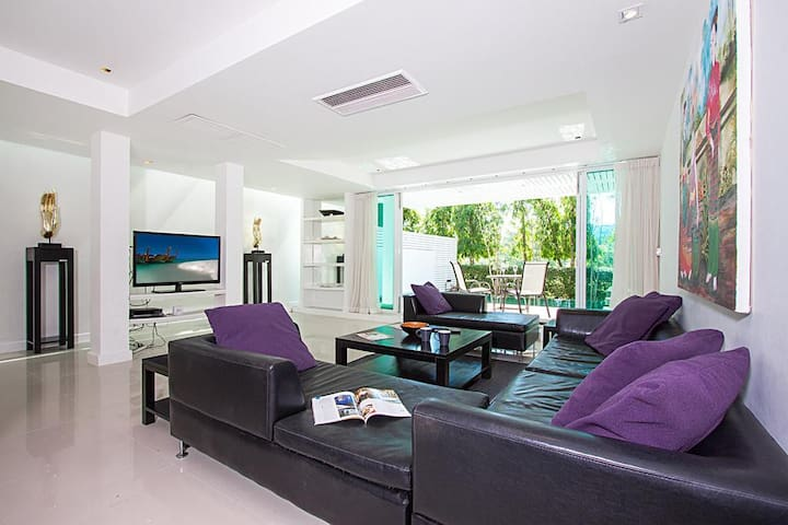 Golf villa 4 bedroom, private pool, 10 mins Patong - Mueang Phuket - House