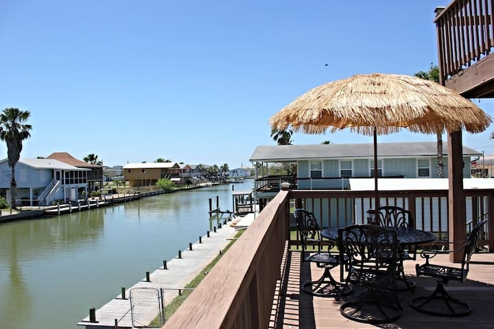 Twin Palms on Copano Bay - Rockport - Casa