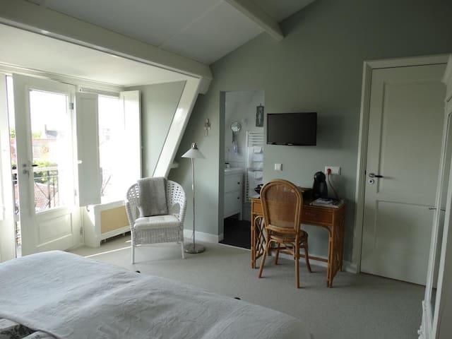 Overzicht van één van de twee slaapkamers