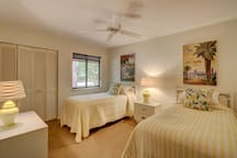 Family-friendly, private beach house w/ an outdoor grill & views of the lagoon!