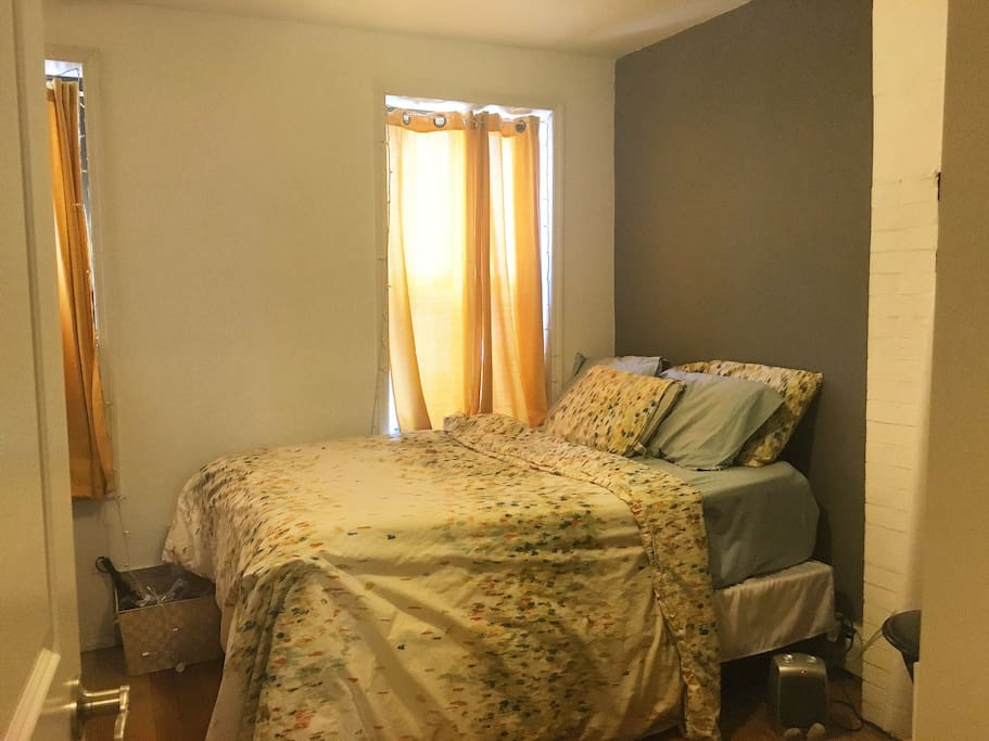 Bedroom Available with amazing afternoon light. Faces backyard