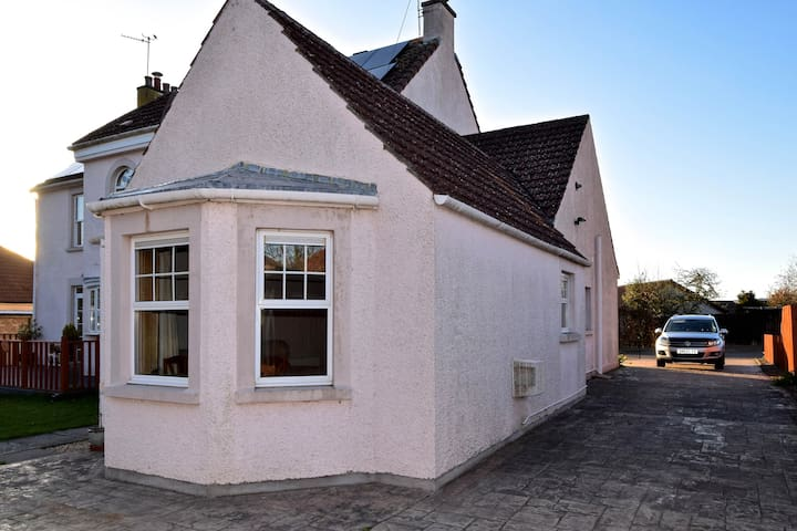 The apartment is a completely self-contained annexe to the main house.