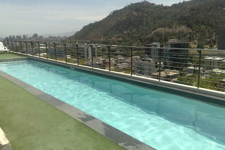 Apartment with panoramic pool overlooking the city - Providencia