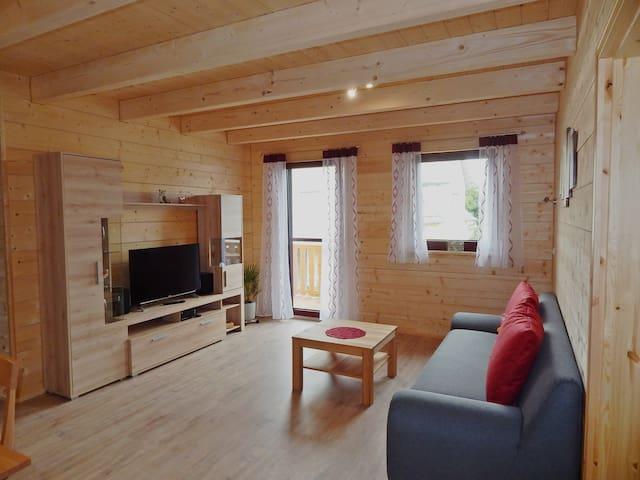 Holzblockhaus Stark (Ferienhof Stark) (Kelheim), Fewo 3 Holzhaus