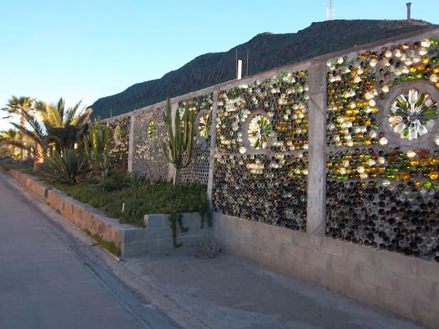 The Grape Wall Of Baja, LA CASITA, Playa La Mision