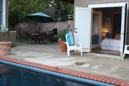 Poolside Cabana w/Private Entrance