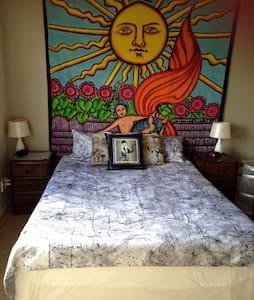 Ensuite bedroom in Eden Terrace - Auckland - Pis