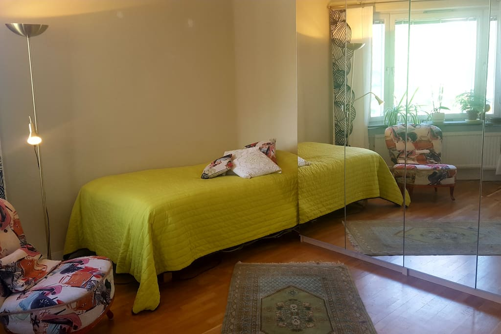 Double room with 140x200 cm bed