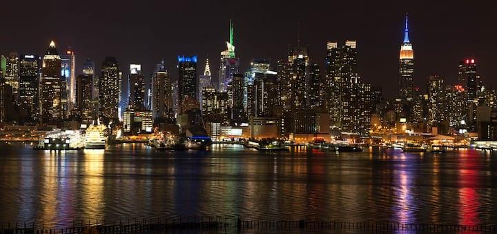 NYC,apt 10 minutes away! 2 Bedrooms