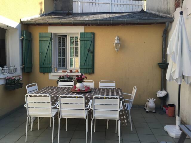 Maison familiale grand extérieur - Trouville-sur-Mer - Dům