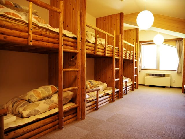 Lob Bed Dorm Room – Hostel with 100% Natural Onsen