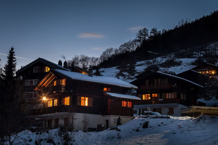 Cosy chalet with beautiful view in Wallis(CH). - Fiesch - Chalet