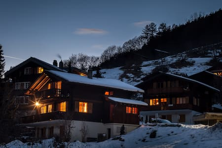 Cosy chalet with beautiful view in Wallis(CH). - Fiesch