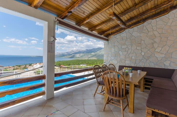 Two Bedroom Villa near Paklenica national park, in Rovanjska, Outdoor pool